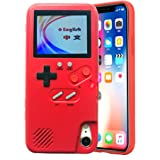 VOLMON Gameboy Case for iPhone Xs Max for Women, Game Console Case with 36 Built-in Games for iPhone Xs Max, Color…