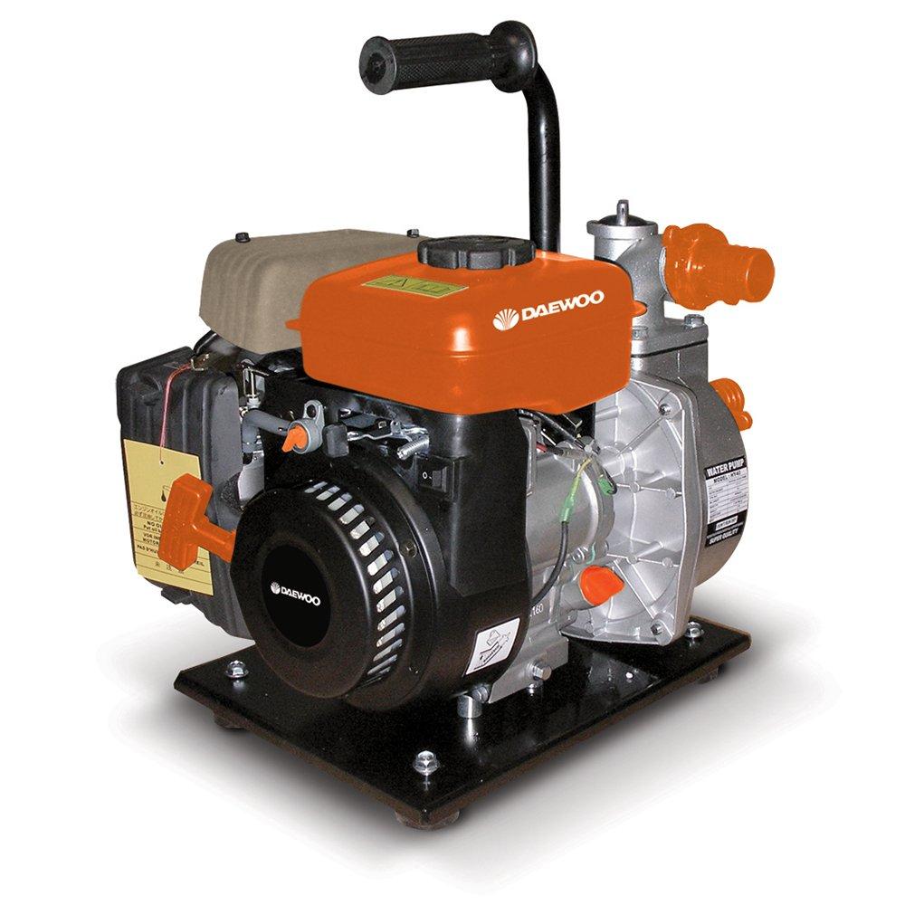 DAEWOO GP25–2–motobomba Benzin 1.25kW, Durchflussmenge Max 7m³/h, sauberes Wasser