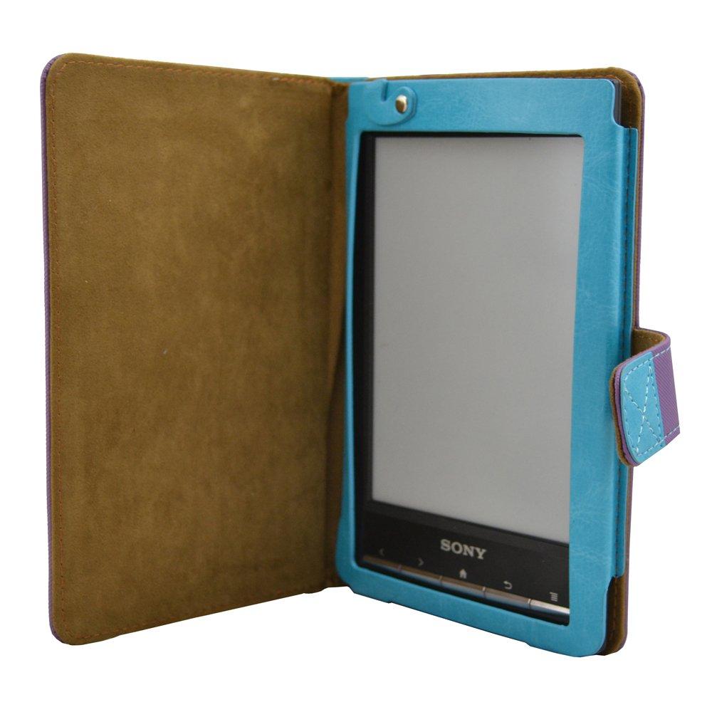 Coodio® Sony PRS-T2 PRS-T1 Premium cuero funda de piel con ...