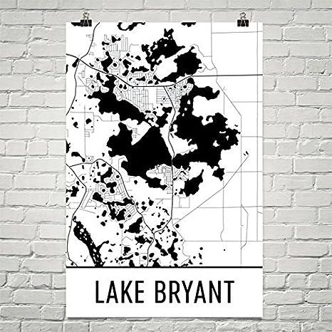 Ocala Florida Map.Amazon Com Lake Bryant Florida Lake Bryant Fl Ocala Fl Map