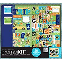 me & my BIG ideas 12-Inch x 12-Inch Scrapbooking Kit, Our Trip Adventure