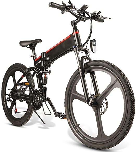 Bicicleta eléctrica Marco de la montaña E-Bici de aleación de ...