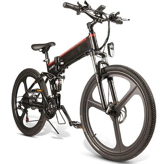 Montaña de bicicletas eléctricas 10.4Ah 48V 350W plegable ...
