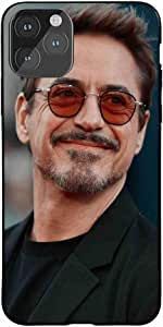 Okteq Case for iPhone 11 Pro MAX Shock Absorbing PC TPU Full Body Drop Protection Cover matte printed - Robert Downey By Okteq