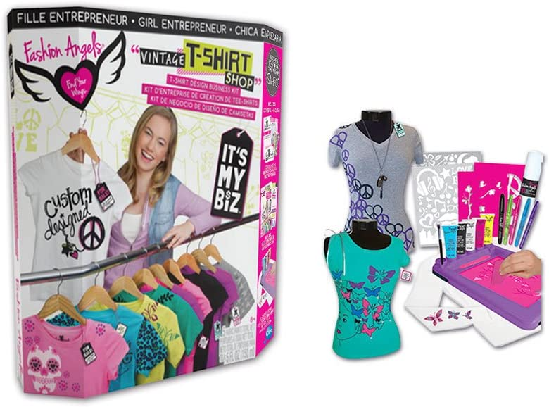 Fashion Angels Its My Biz Business T Shirt Design Kit 40063 Amazon Co Uk Toys Games