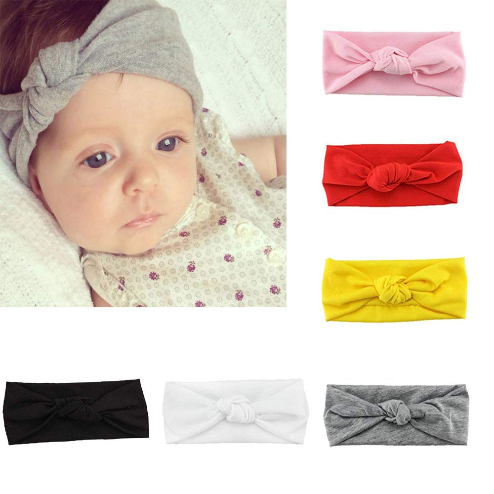 Amazon.com  G-Tree 6 PCS baby Head Wrap 4ea6398770b