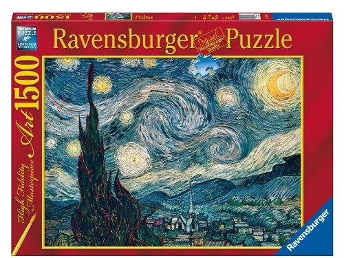 Ravensburger - 1,500 Pieces Jigsaw Puzzle - Van Gogh : Starry Night