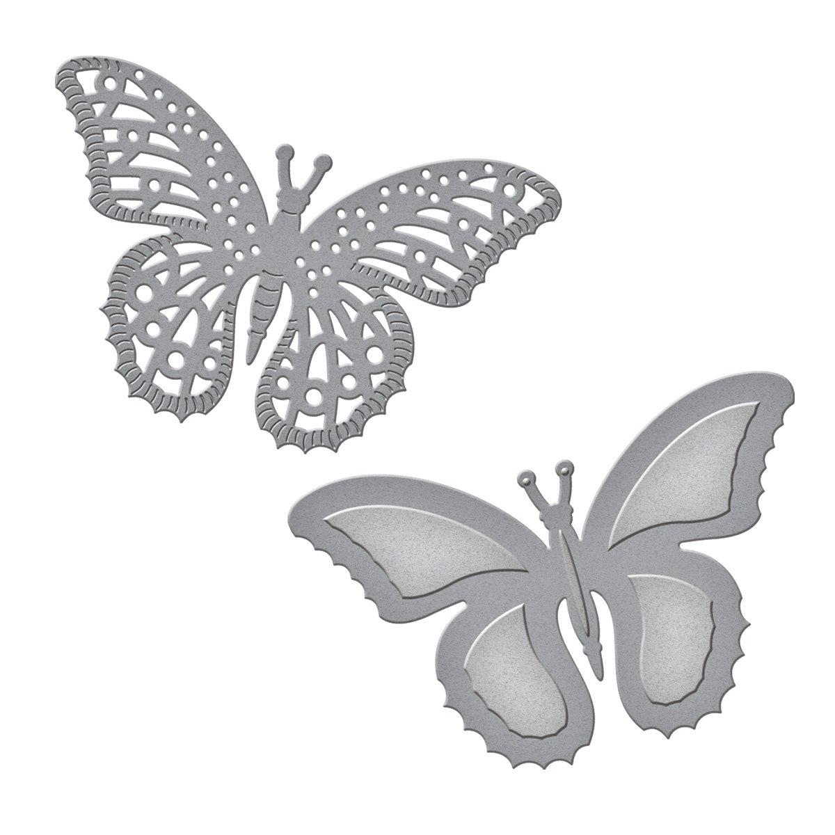Spellbinders S2-073 Die D-Lites Flutters Etched/Wafer Thin Dies
