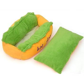 Myfei® - Cama para perro caliente, calidad de algodón, para perros, gatos