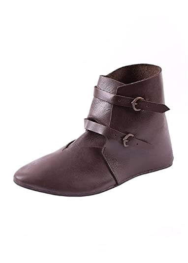 Ulfberth Zapatos de Cordones de Piel Para Hombre Marrón Marrón, Color Marrón, Talla 41 UE