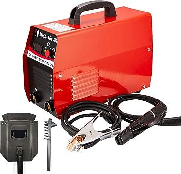 20-160A Inversor M/áquina de Soldadura Mini Soldador de Electrodos M/áquina de Soldadura ARC