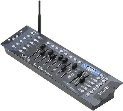 Tomshine 192 Canales DMX512 Etapa Luz Inalámbrica Consola ...