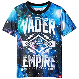 Star Wars Boys' Trooper and Vader Graphic T-Shirt