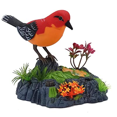 BELUPAID Singing and Dancing Bird, Electronic Bird Toy with Realistic Sounds and Movements for Kids Adults: Toys & Games