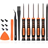 TECKMAN T6 T8 T9 T10 Torx Security Screwdriver Set, Repair Kit for Xbox one Xbox 360 PS3 PS4 Controller Disassembly and…