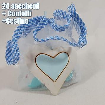 Sindy Bomboniere Geschenk Für Geburt Taufe Mit Süßigkeiten Korb