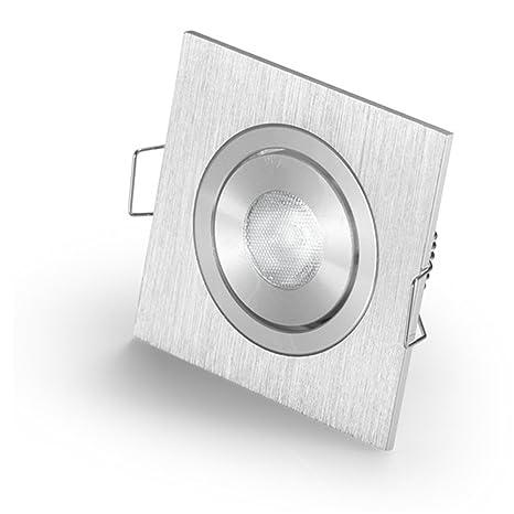Mini Focos Led Empotrable De Luz Led Fixture Para Cerr Xpe Led 3 W