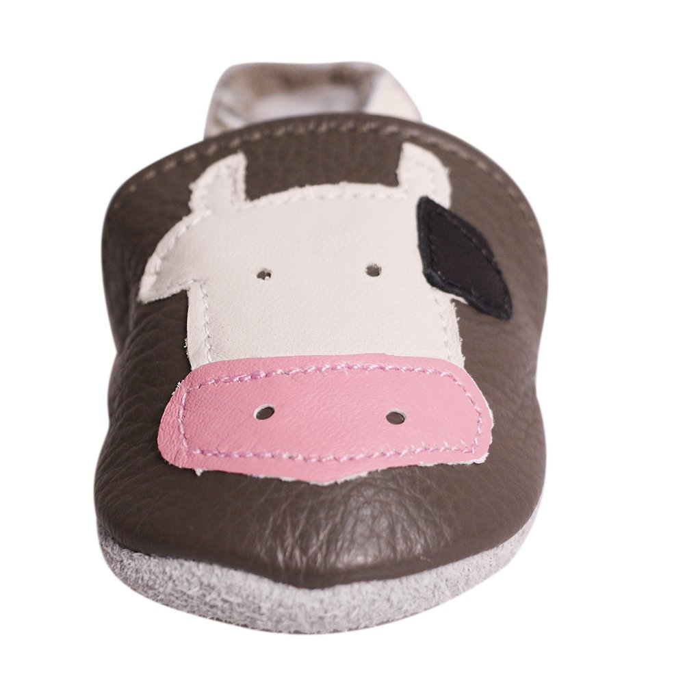 Biuonk Baby Toddler Crib Shoes Soft Sole First Walking Shoes