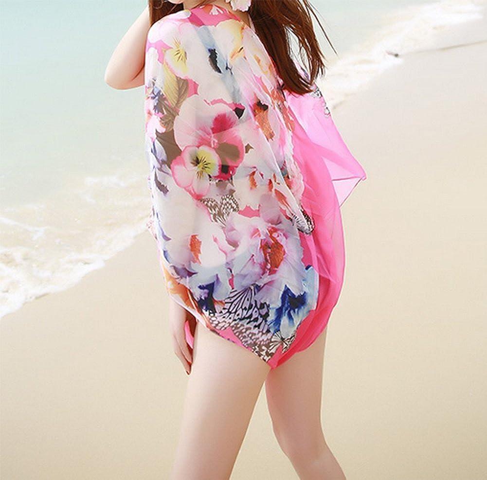 Skyeye Frauen Sommer gro/ße Anti-Seide Schal Meer Sonnencreme Sonnenschutz Schal Gaze Urlaub Strand Handtuch