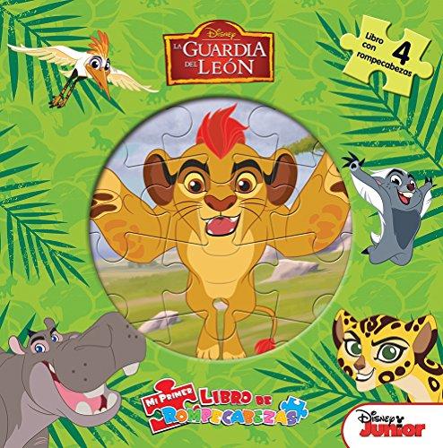 Mi primer libro de rompecabezas: la guardia del león