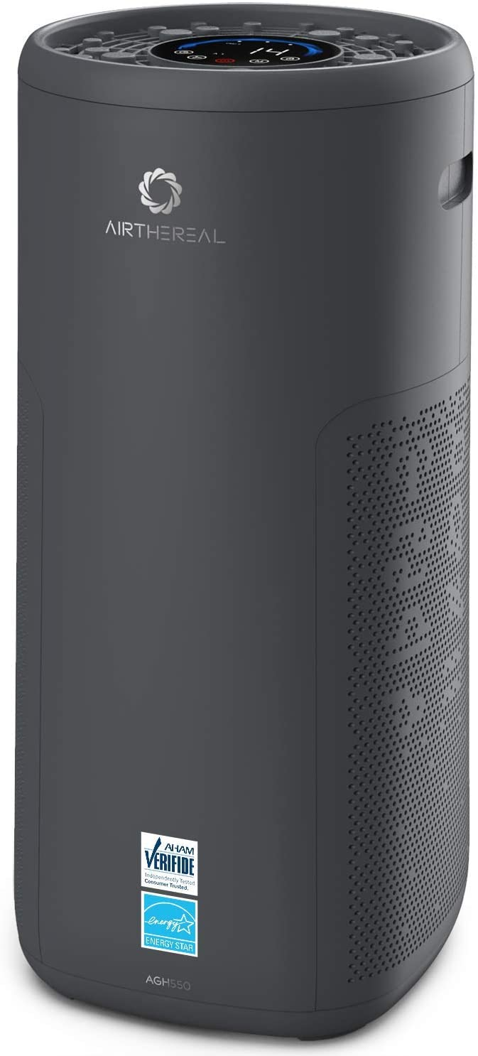 Airthereal AGH550 Air Purifier with True HEPA Filter and Air Quality Monitor with Energy Star Rated for Extra Large Rooms, Living Room and Office - Glory Days