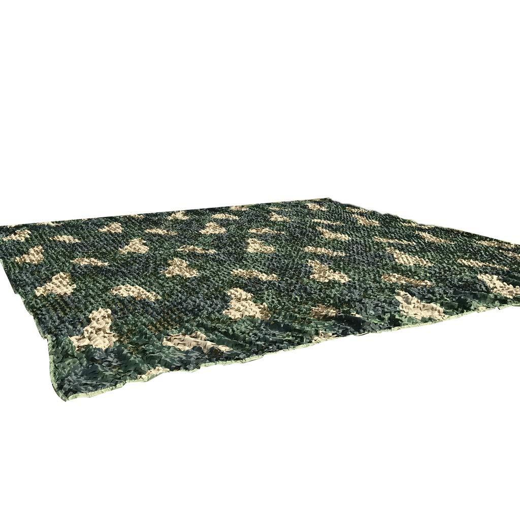 Qjifangwzh Camouflage Nets, DREI Farbdruck Außen Camo Netting Camping Abdeckung, mehrere Größen