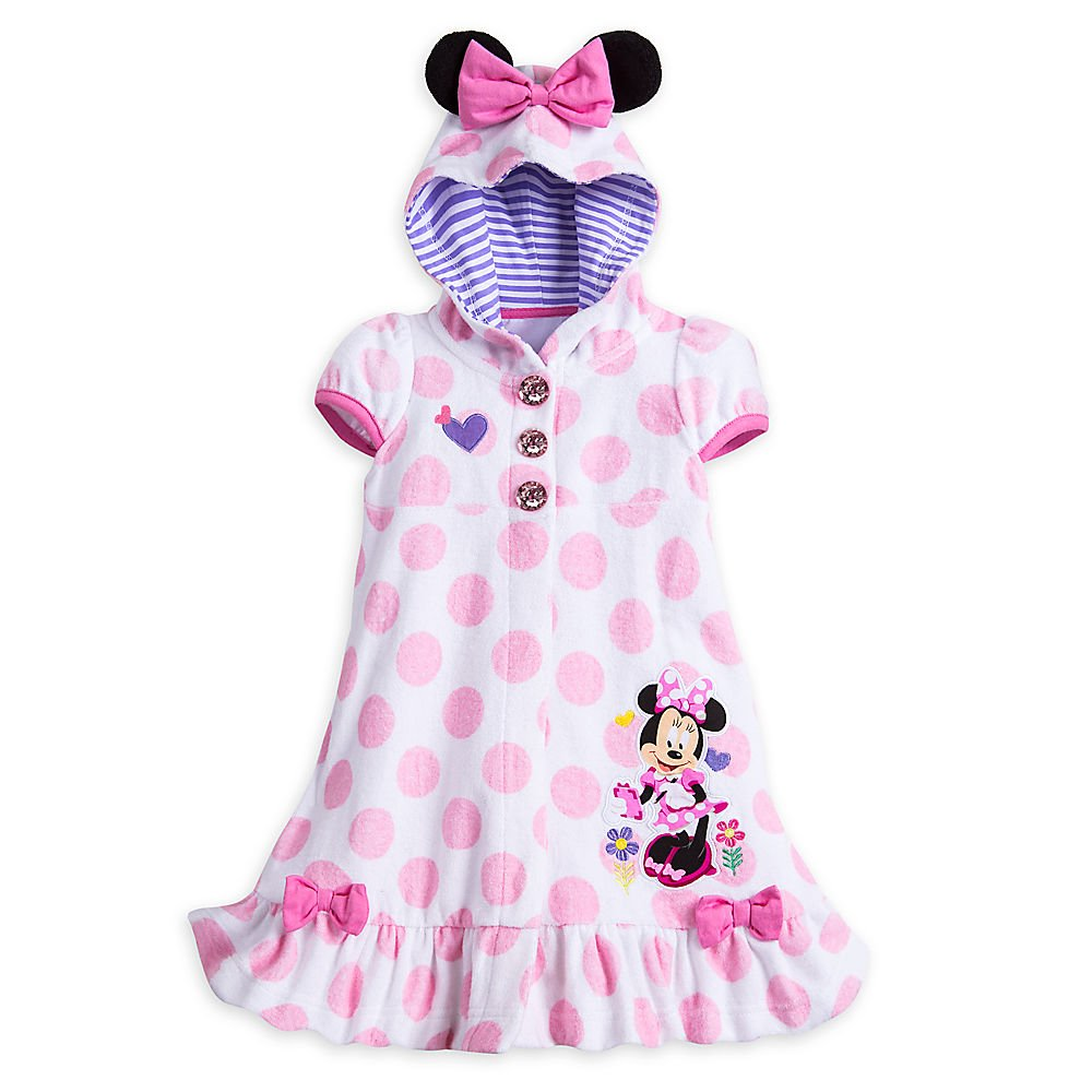 Disney Minnie Mouse Swim Cover Up for Girls - White 5803046950337020