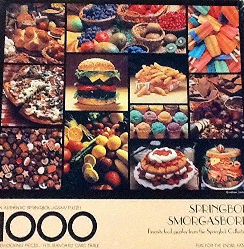 """""""Smorgasbord"""" ~ Vintage Springbok Puzzle ~ 1000 Piece from Springbok"""