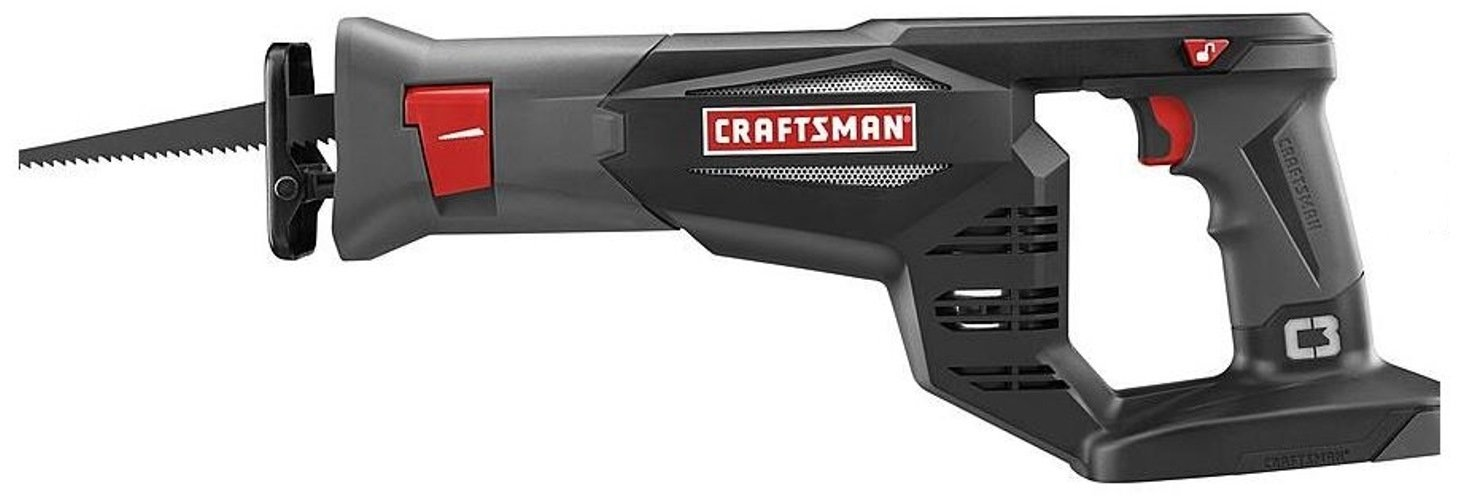 Craftsman 19.2 Volt Reciprocating Saw Variable Speed Tool Only- Battery and Charger NOT INCLUDED