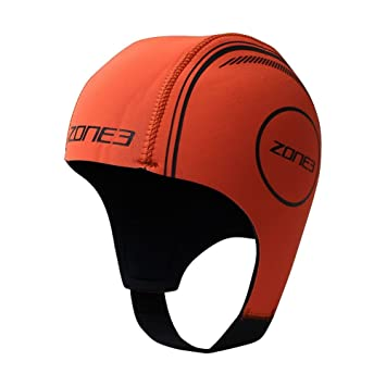 1071183a217 Zone 3 Neoprene Triathlon Swimming Cap: Amazon.co.uk: Sports & Outdoors