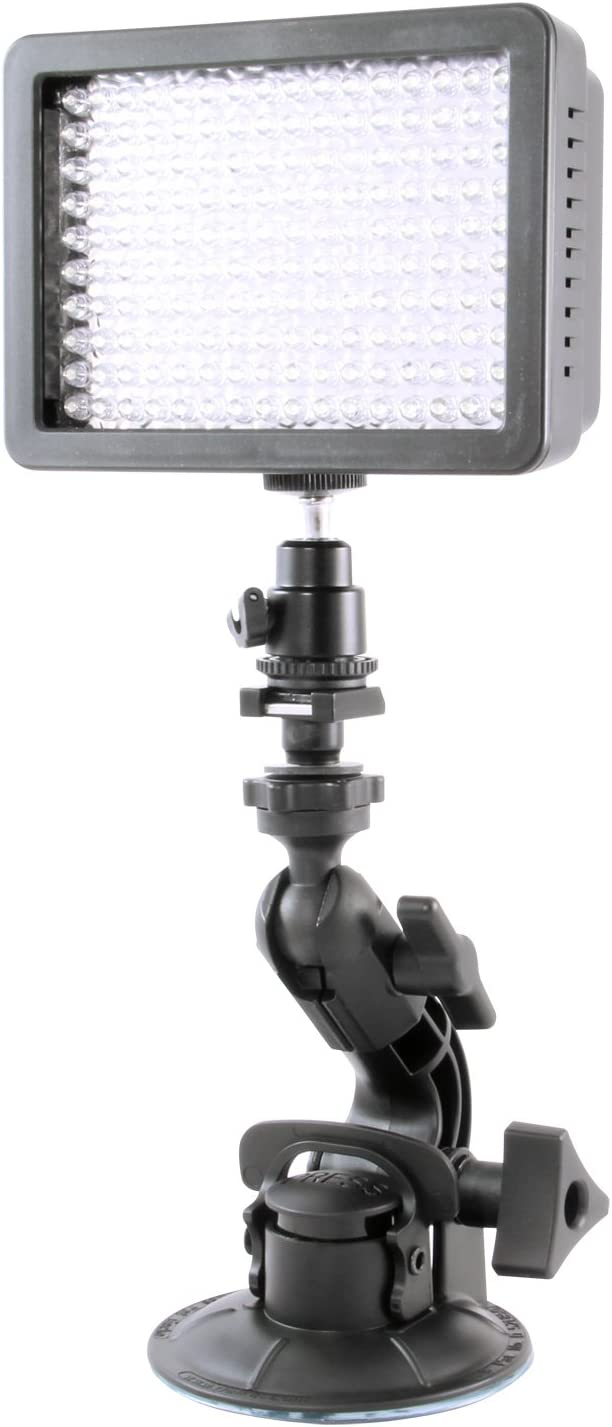 Delkin DDMNT-TRIPLE Fat Gecko Three-Arm Suction Mount Black