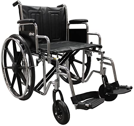 Amazon Com Drive Medical Sentra Ec Heavy Duty Wheelchair With
