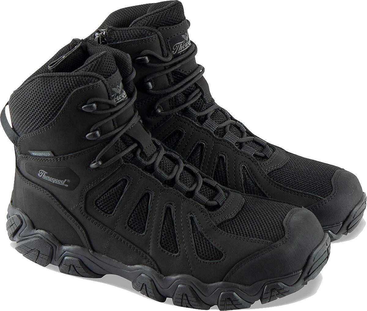 Thorogood Men's Crosstrex Series Side Zip BBP Waterproof 6 Hiker