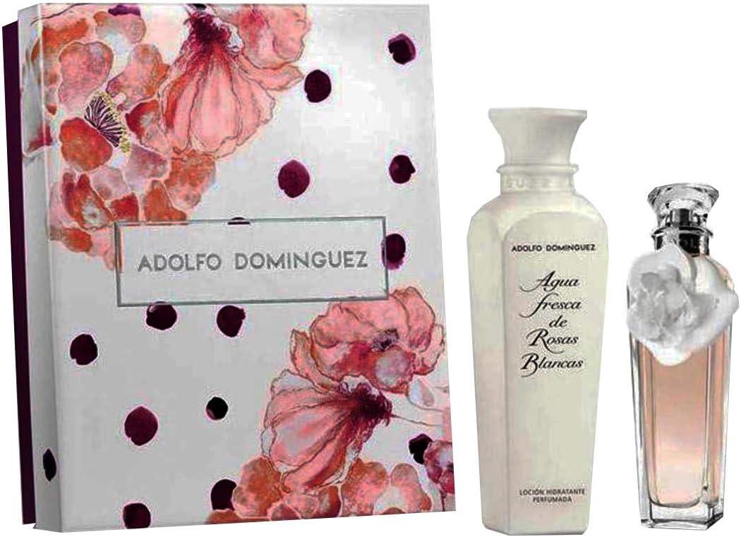Adolfo Dominguez - Estuche de regalo eau de toilette agua fresca de rosas: Amazon.es: Belleza