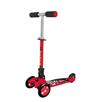 Patinete de 3 Ruedas, Nextreme ADVENTURE KID GRAND PRIX Rojo: Amazon.es: Deportes y aire libre