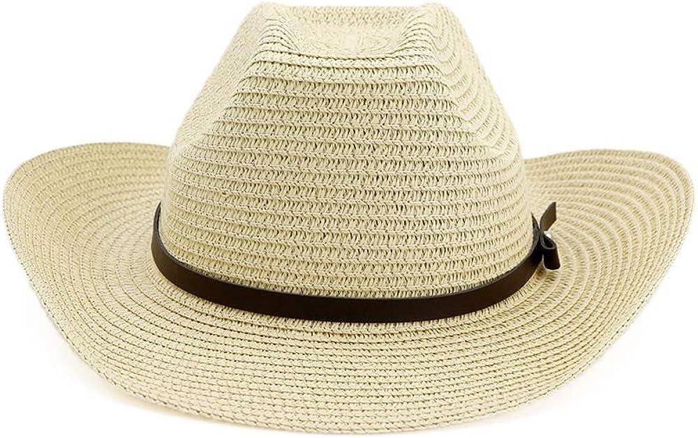 Women Summer Straw Western...