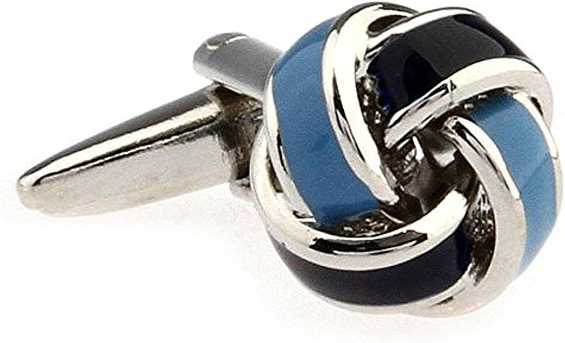 Covink/® Boutons de Manchette Simple en Forme de Noeud en Forme de Boule pour Homme