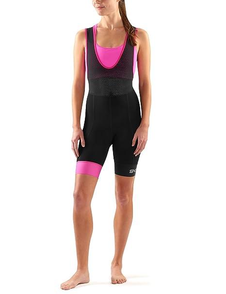 68a070047f844 Skins Cycle Dnamic Women's Bib Half Tights: Amazon.co.uk: Sports ...