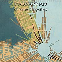 Imaginary maps of non existing cities 2016: A series of artworks describing imaginary places, as seen in an aerial view.