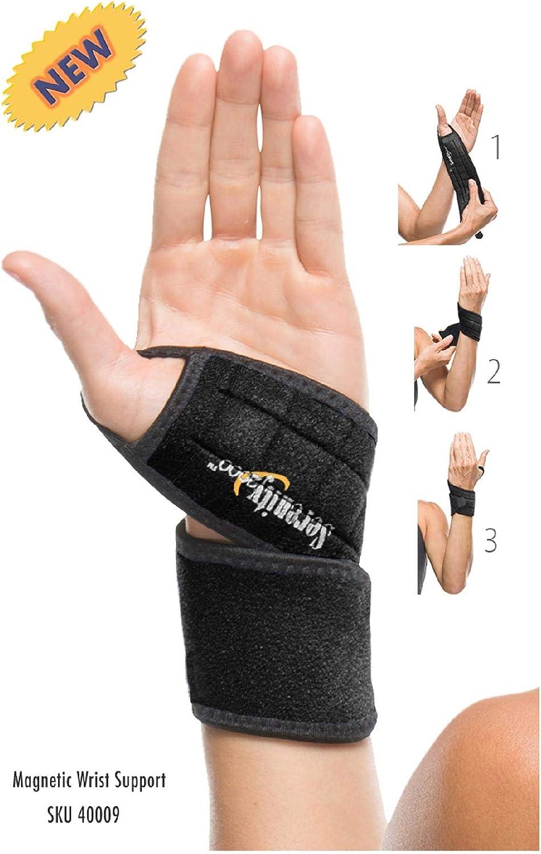 B0002X4WL8 Serenity 2000 Magnetic Therapy Wrist Support Wrap 61YB8L2XZvL