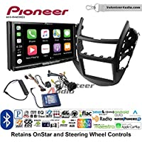 Volunteer Audio Pioneer AVH-W4400NEX Double Din Radio Install Kit with Wireless Apple CarPlay, Android Auto, Bluetooth Fits 2015-2016 Chevrolet Trax