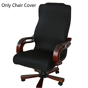 Caveen Office Chair Cover Computer Chair Universal Boss Chair Cover Modern  Simplism Style High Back Large