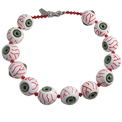 Amazon kreepsville 666 green eyeball necklace pendant kreepsville 666 green eyeball necklace aloadofball Choice Image