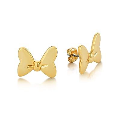 regarder profiter de gros rabais magasin en ligne Disney Minnie Mouse Plaqué Or Boucles d'oreilles: Amazon.fr ...