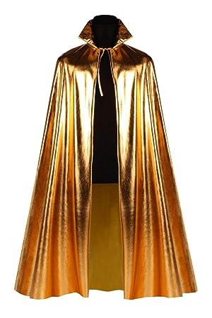 135cm Umhang Metallic Kostüm Karneval Fasching
