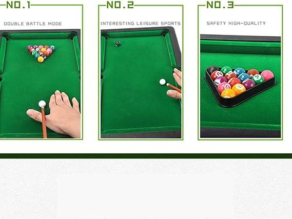 YuYzHanG Mini Mesa De Billar Mini Mini Mesa De Billar Taco De ...