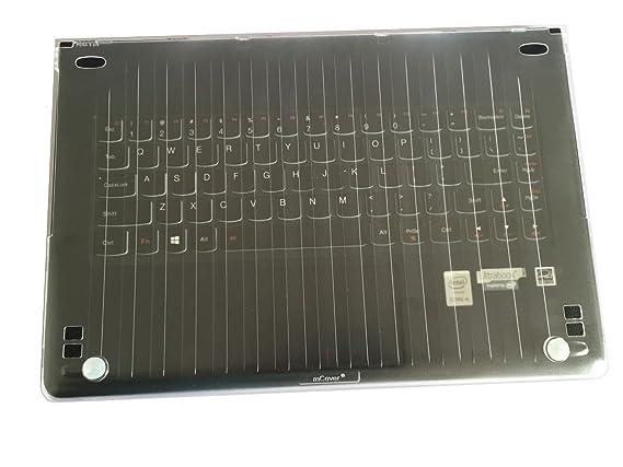mCover Ligero Funda Dura Lenovo Yoga 910 13,9 Pulgadas portátil - Transparente
