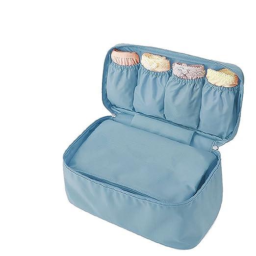 1 X Clothes Underwear Storage Organizer Bag Travel Portable Socks Packing Cube Storage Travel Luggage Make Up Bag Drawer Organizers Clothing & Wardrobe Storage