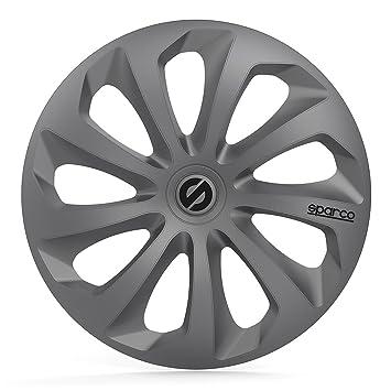 Amazon.com: Sparco SPC1470BK Sicilia Wheel Covers, Black, Set of 4, 14