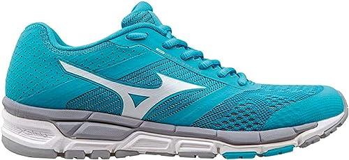Mizuno Zapatillas de Running Synchro MX Wos Cielo/Blanco EU 38.5 (US 8): Amazon.es: Zapatos y complementos